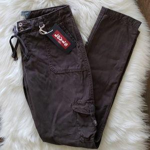 B2G1 NWT Levi's Dark Gray Boyfriend Cargo Pants